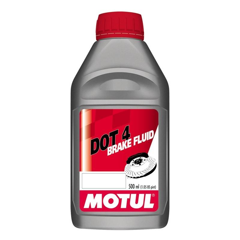 DOT 3 and 4 Brake Fluid