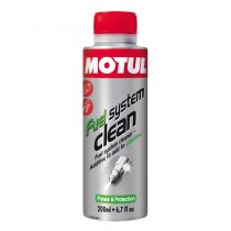 Fuel System Clean Moto
