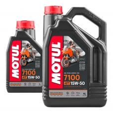 7100 15W50 4T 4L Promo Pack