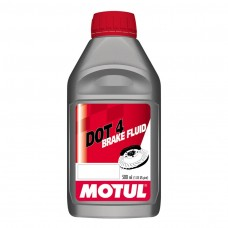 DOT 3 and 4 Brake Fluid