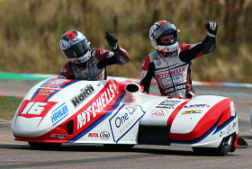 BIRCHALL RACING CLAIM OVERALL RACE ONE WIN AT THRUXTON