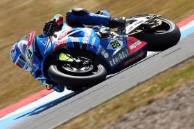 Podium for McConnell highlight of tough weekend at Knockhill for Buildbase Suzuki