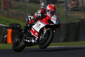 Points and podiums for Moto Rapido Ducati at Oulton Park